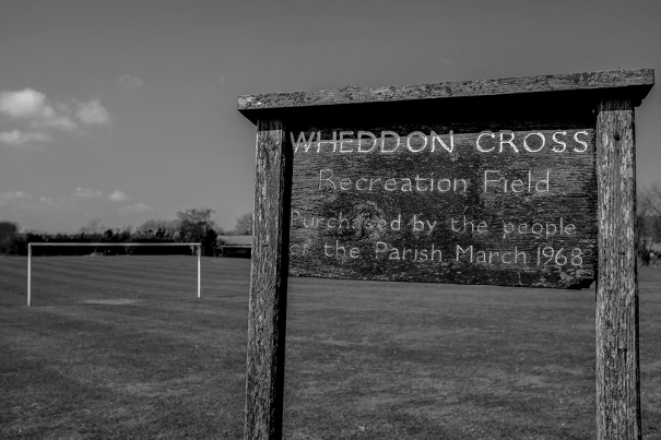 The Recreation Ground at Wheddon Corss